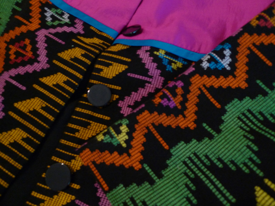 The texture, the colors and the details...love this NTB traditional woven textile by Bima city